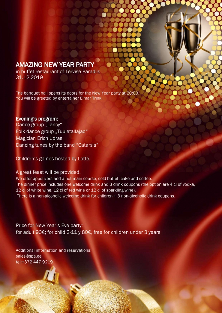 New Year`s Eve party