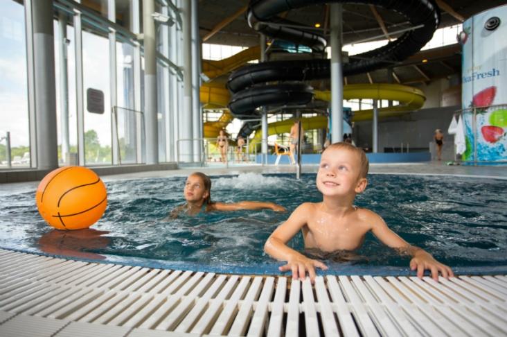 Eesti suurim veepark on Tervise Paradiisis