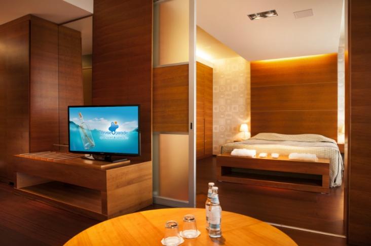Luksusearmastajaid ootavad Tervise Paradiisis saunaga sviidid
