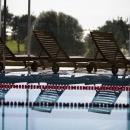 Vaade ujumisbasseinist Tervis ravispaahotellis
