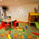 The clients of Spa&Sports sportsclub can use the children's playroom on the 2nd floor of Tervise Paradiis