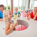 You can select different birthday party packages for helding the party in water park or in Aqua bar