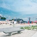 Vaade Tervise Paradiisile Pärnu rannast