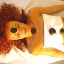 Lava stone massage
