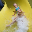 You can slide from the slide tubes, the longest of which is 85 meters long