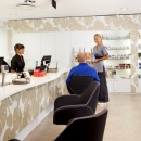 Tervise Paradiis, reception and sales counter  in treatments and relaxations department