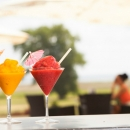 Summery coctails in Terrace bar