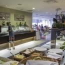 Buffet-restoranis on rikkalik ja tervislik toiduvalik