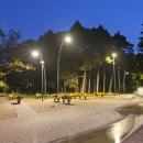 Pärnu rannapark öösel