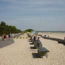 Promenaad Pärnu rannas