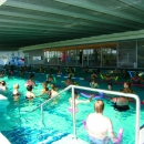 Number of different group workouts are held in swimming pool