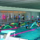 Water aerobics, water jogging, water gymnastics, circuit training in pool and many other activities take place in swimming pool