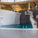 The more courageous visitors can use a 4 metre diving platform, and the depth of water underneath is 4 metres.