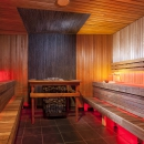 HYPERBOREA / Steam room- A mythological country far in the North. In our version it is a hot Finnish sauna – you will see the northern lights, and will dream of snowdrifts.