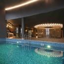 You are welcome to enjoy a Japanese bath, an aroma sauna, a steam sauna, a salt sauna, a sanarium, an ice-cold bath, a swimming pool and an especially hot steam room.