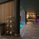 Cozy and feature-rich sauna center allows you to seclude yourself and enjoy life at your own pace.