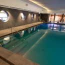 Visitors of gym in Tervis Medical Spa Hotel can enjoy the pleasures of low temperature sauna and swimming pool