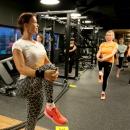 Circuit training in gym