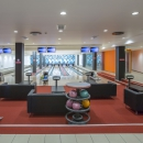 The bowling alley with 6 lanes on the basement of Tervise Paradiis is at your service.