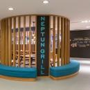 Neptun Grill asub veekeskuse 1.korrusel